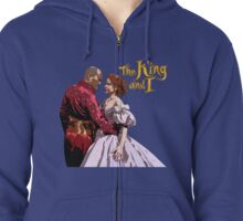 The King and I (2015 Broadway Revival) Zipped Hoodie