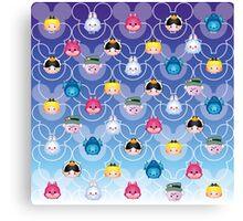 Tsum Tsum Alice in Wonderland Canvas Print