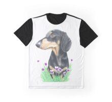 Zara the Dachshund. Graphic T-Shirt