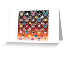 Tsum Tsum Alice in Wonderland - black/red Greeting Card