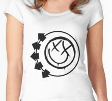 blink 128 Women's Fitted Scoop T-Shirt