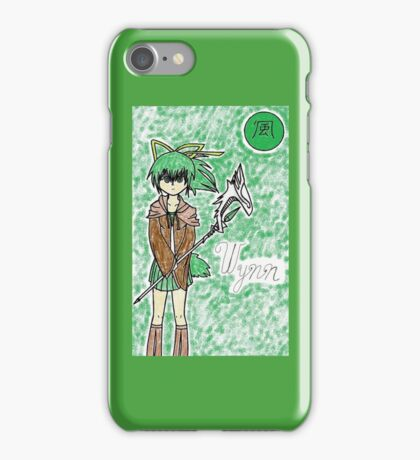 Wind Charmer, Wynn iPhone Case/Skin