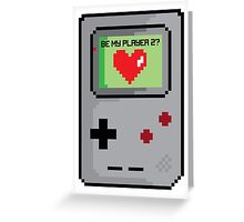 Be My Player 2 Greeting Card