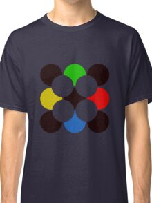 Colorful Circle Pattern Classic T-Shirt