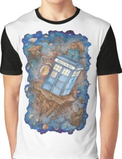 Tardiskitten Graphic T-Shirt