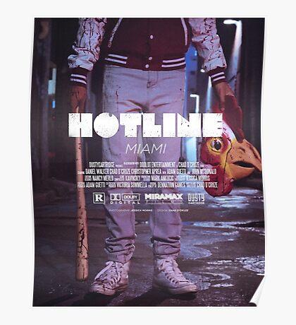 Hotline Miami: The Movie Poster
