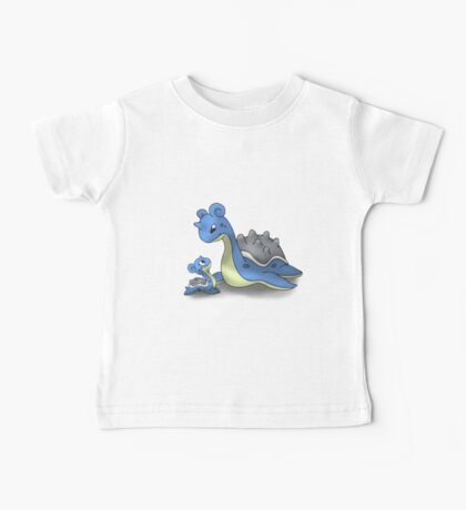 Lapras Pokemon Mother & Child Baby Tee