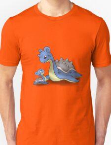 Lapras Pokemon Mother & Child Unisex T-Shirt