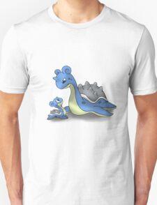 Lapras Pokemon Mother & Child T-Shirt