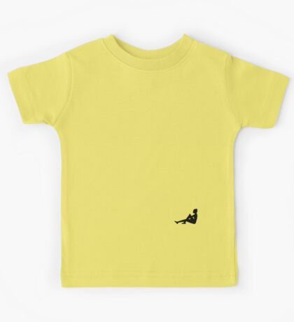 Small Sitting Silhouette Kids Tee