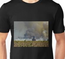 Soybeans, Silos and Shimmering Heat Unisex T-Shirt