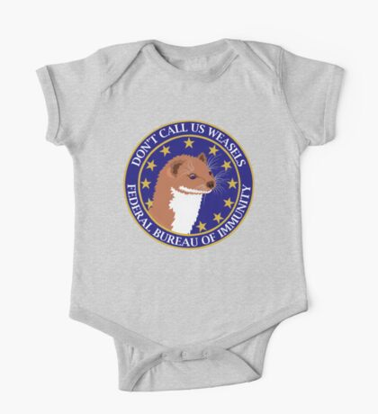 Don't Call Us Weasels FBI Director James Comey Parody  One Piece - Short Sleeve