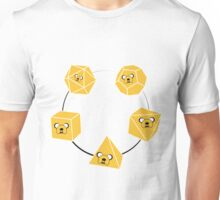 Adventure Time Jake Platonic Solids T Shirt Unisex T-Shirt