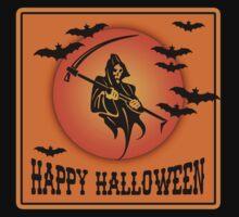 Happy Halloween Grim Reaper by Greenbaby