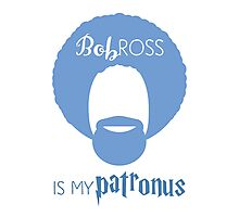 Bob Ross is my Patronus Photographic Print