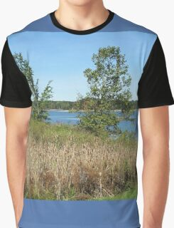 Early Fall at West Branch Graphic T-Shirt