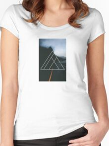 On the Road Women's Fitted Scoop T-Shirt