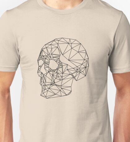Wire Skull Unisex T-Shirt