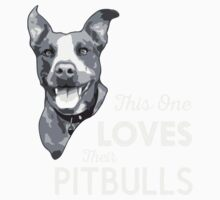 This One Loves Their Pitbulls One Piece - Short Sleeve