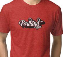 Portland Oregon Tri-blend T-Shirt