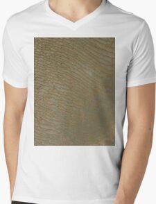 Sand Dunes in Rub al Khali Desert Saudi Arabia Satellite Image Mens V-Neck T-Shirt