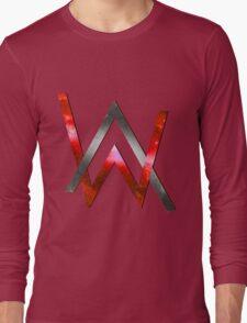 Alan Walker Red Long Sleeve T-Shirt