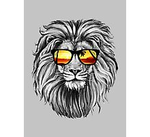 Lion Cool Photographic Print