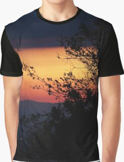 Sunset view from Idyllwild CA Graphic T-Shirt