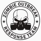 Zombie Outbreak Response Team gas mask by Tony  Bazidlo