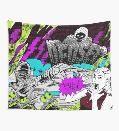 #Holy Lulz! Wall Tapestry
