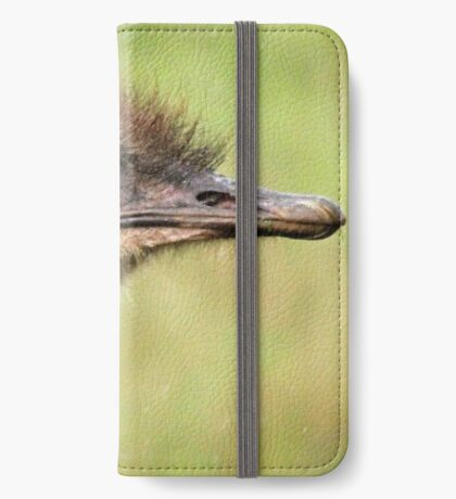 Female Ostrich iPhone Wallet/Case/Skin