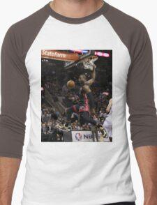 hd sports artwork Men's Baseball ¾ T-Shirt