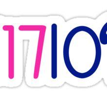 SE17IORS Class of 2017 Sticker