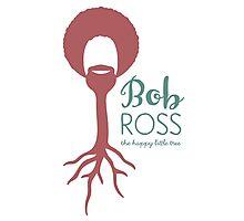Bob Ross, A Happy Little Tree Photographic Print