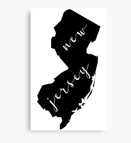 NJ Canvas Print