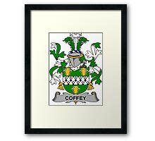 Coffey Coat of Arms (Irish) Framed Print