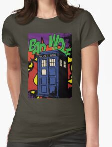 Bad Wolf, Roy Womens Fitted T-Shirt