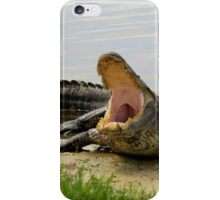 Boring and yawning iPhone Case/Skin
