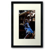 farewell hd basketball throwback Framed Print