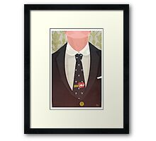 Sharply Dressed: Moriarty Framed Print