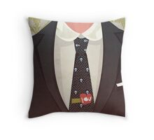 Sharply Dressed: Moriarty Throw Pillow