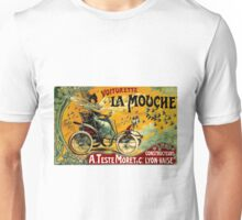 LA MOUCHE; Vintage Auto Advertising Print Unisex T-Shirt
