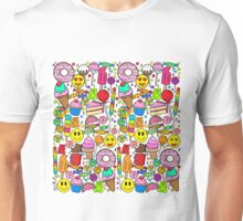 Candy Collage Unisex T-Shirt