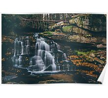 Surreal Waterfall - West Virginia   Poster