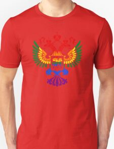 Russian Gay Pride Unisex T-Shirt
