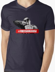 SHMURDA Mens V-Neck T-Shirt