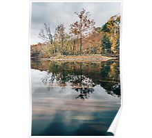 Fall Foliage Reflection Poster