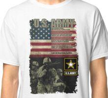 U.S. Army Creed Classic T-Shirt