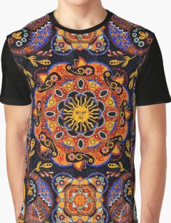 Mandala Sun Graphic T-Shirt