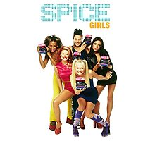 SPICE GIRL Photographic Print